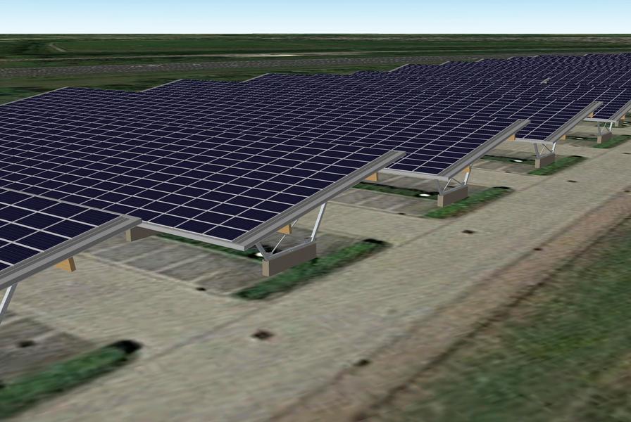 NaGa Solar - parkeerdek chemelot